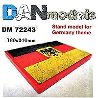 DAN MODELS スケール 1/72 スタンド ドイツモデルテーマ72243