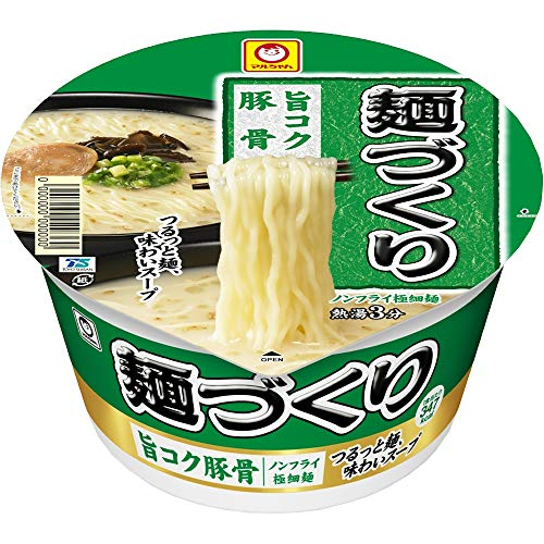 マルちゃん 麺づくり 旨コク豚骨 87g×12個