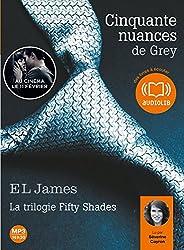 Cinquante nuances de Grey: Livre audio 2 CD MP3 - 604 Mo + 521 Mo
