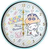 ティーズファクトリー 掛け時計 インデックスウォールクロック80sPOP/パジャマ 30×30×4cm クレヨンしんちゃん インデックスウォールクロック KS-5520188PJ