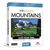 Hd Moods: Mountains [Blu-ray] [Import]