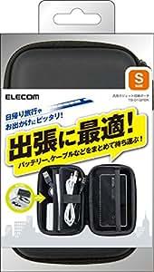 ELECOM 汎用ガジェット収納ポーチ Sサイズ ブラック TB-01GPBK
