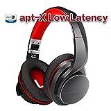 AUSDOM Bluetooth ヘッドホン ワイヤレス ヘッドフォン apt-x Low Latency対応 密閉型 無線有線両用ヘッドホン bluetooth4.2 高音質 軽量 ステレオ ヘッドフォン マイク内蔵 折り畳み式 技適認証 多国語説明書