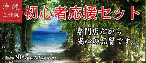 三線 沖縄三線 初心者向けセット【フェア特別奉仕品】※送料無料