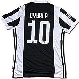 サッカーユニフォーム 2017-2018モデル ユヴェントス ホーム パウロ・ディバラ DYBALA 背番号10 レプリカサッカーユニフォーム大人用