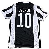 サッカーユニフォーム 2017-2018モデル ユヴェントス ホーム パウロ・ディバラ DYBALA 背番号10 レプリカサッカーユニフォーム大人用 M