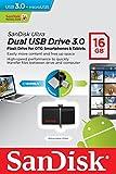 SanDisk ウルトラ デュアル USB ドライブ 3.0 SDDD2-016G [並行輸入品] (16GB)