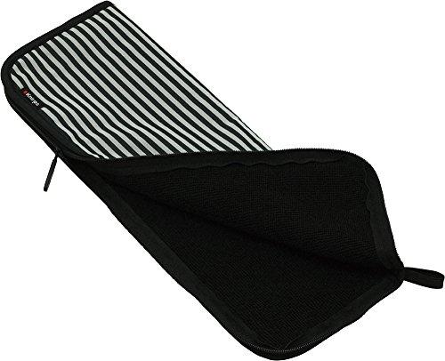 Knirps 折りたたみ傘収納ケース ドライバッグ 【正規輸入品】 Stripe Black & White KN-DB269