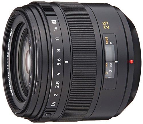 Panasonic 単焦点レンズ  フォーサーズ用 ライカ D SUMMILUX 25mm/F1.4 ASPH. L-X025