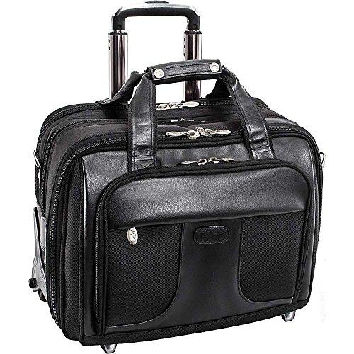 (マックレーンユーエスエー) McKlein USA メンズ バッグ キャリーバッグ Chicago Nylon Wheeled 15.6' Laptop Case 並行輸入品