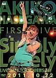 "長谷川明子 1st Live""Simply Lovely""DVD"