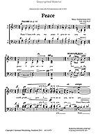 Sixten, Fredrik:Peace (SATB div.) [輸入版]