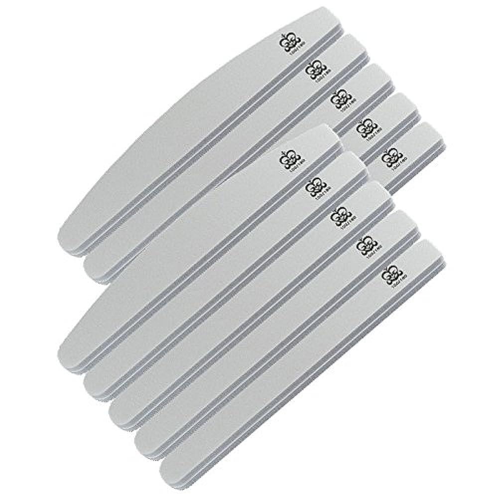 物理的なフォーラム広げるミクレア(MICREA) ミクレア プロフェッショナルスポンジファイル バリューパック ムーン型 100/180 10本入