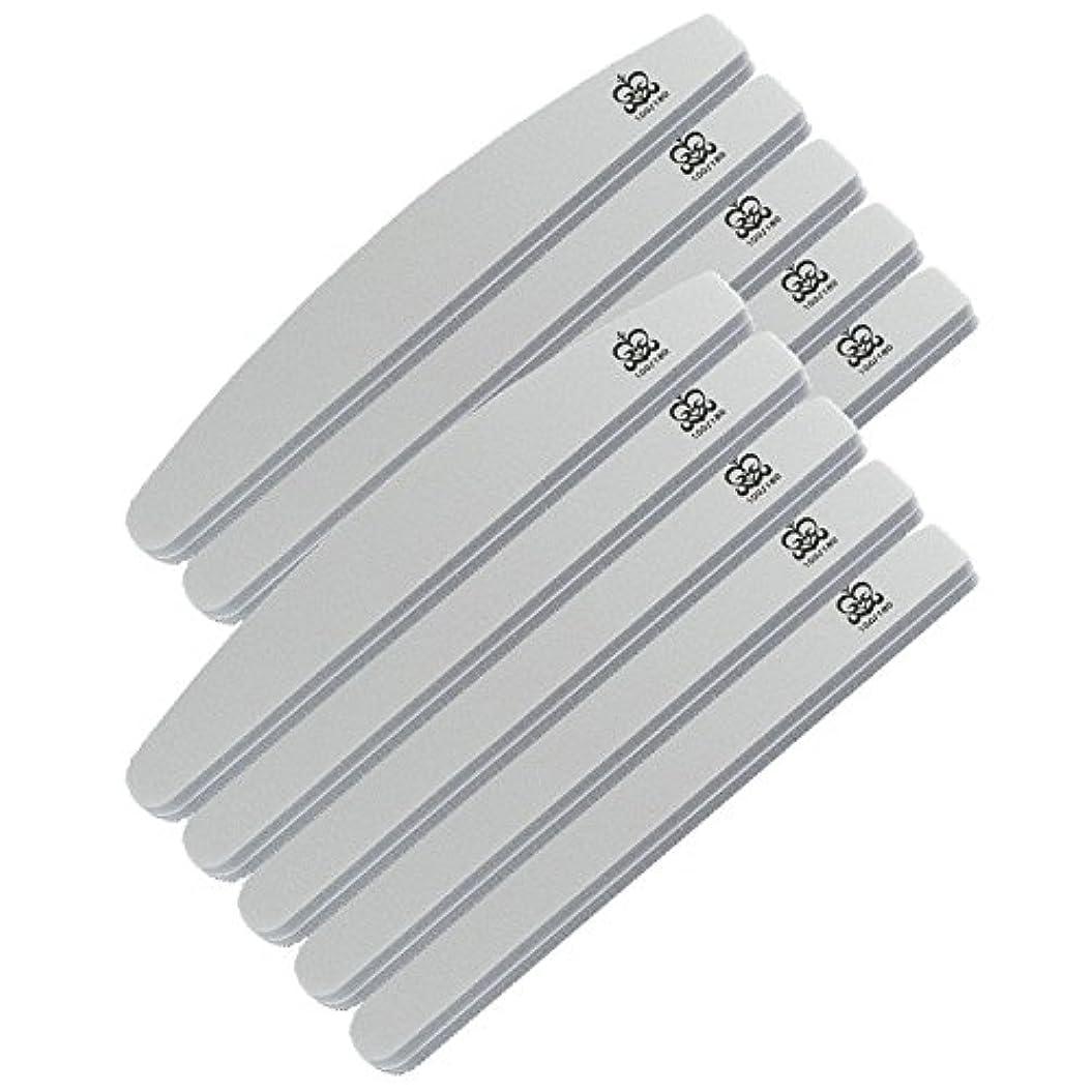 再集計少年慣れるミクレア(MICREA) ミクレア プロフェッショナルスポンジファイル バリューパック ムーン型 100/180 10本入