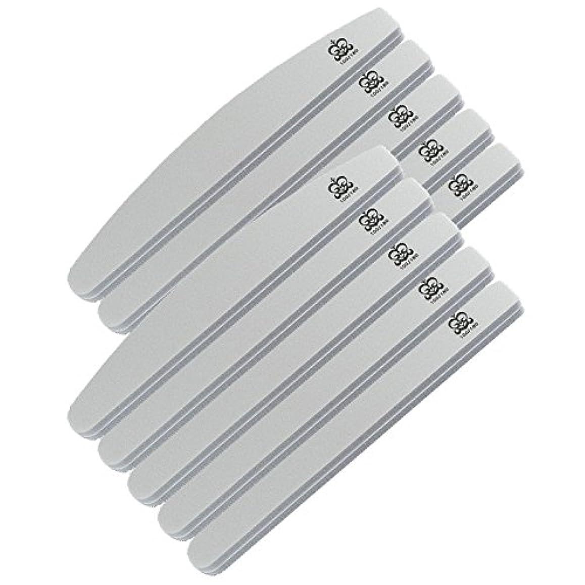 カビ補うデータミクレア(MICREA) ミクレア プロフェッショナルスポンジファイル バリューパック ムーン型 100/180 10本入