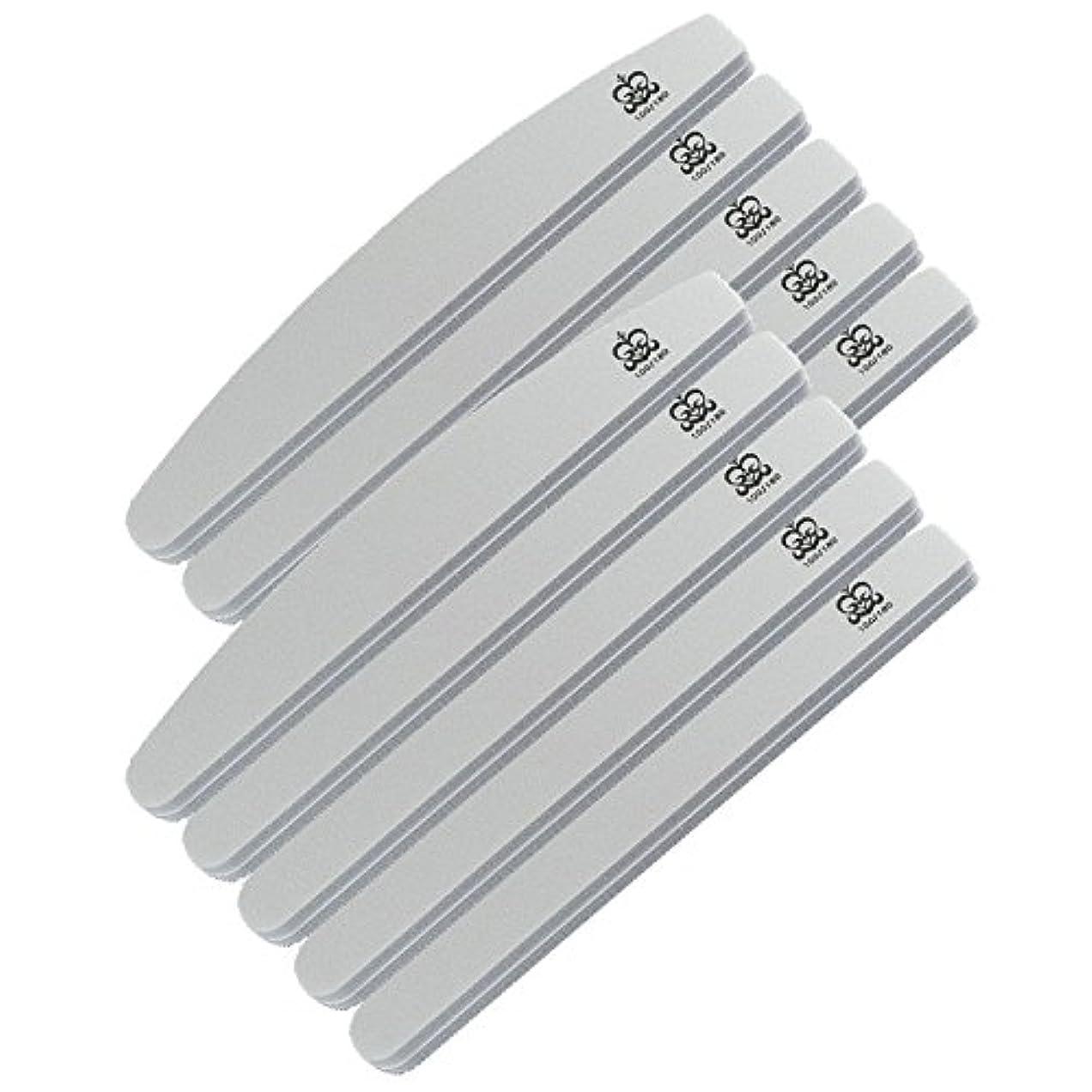 親指口述する商品ミクレア(MICREA) ミクレア プロフェッショナルスポンジファイル バリューパック ムーン型 100/180 10本入
