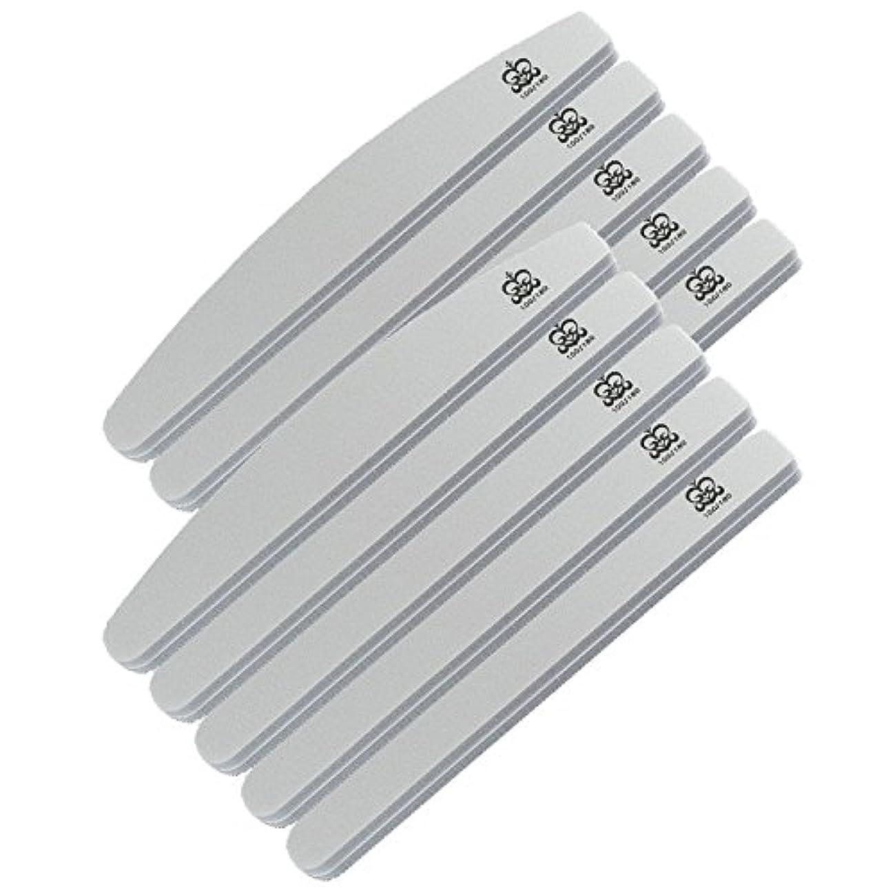 可能水平始まりミクレア(MICREA) ミクレア プロフェッショナルスポンジファイル バリューパック ムーン型 100/180 10本入