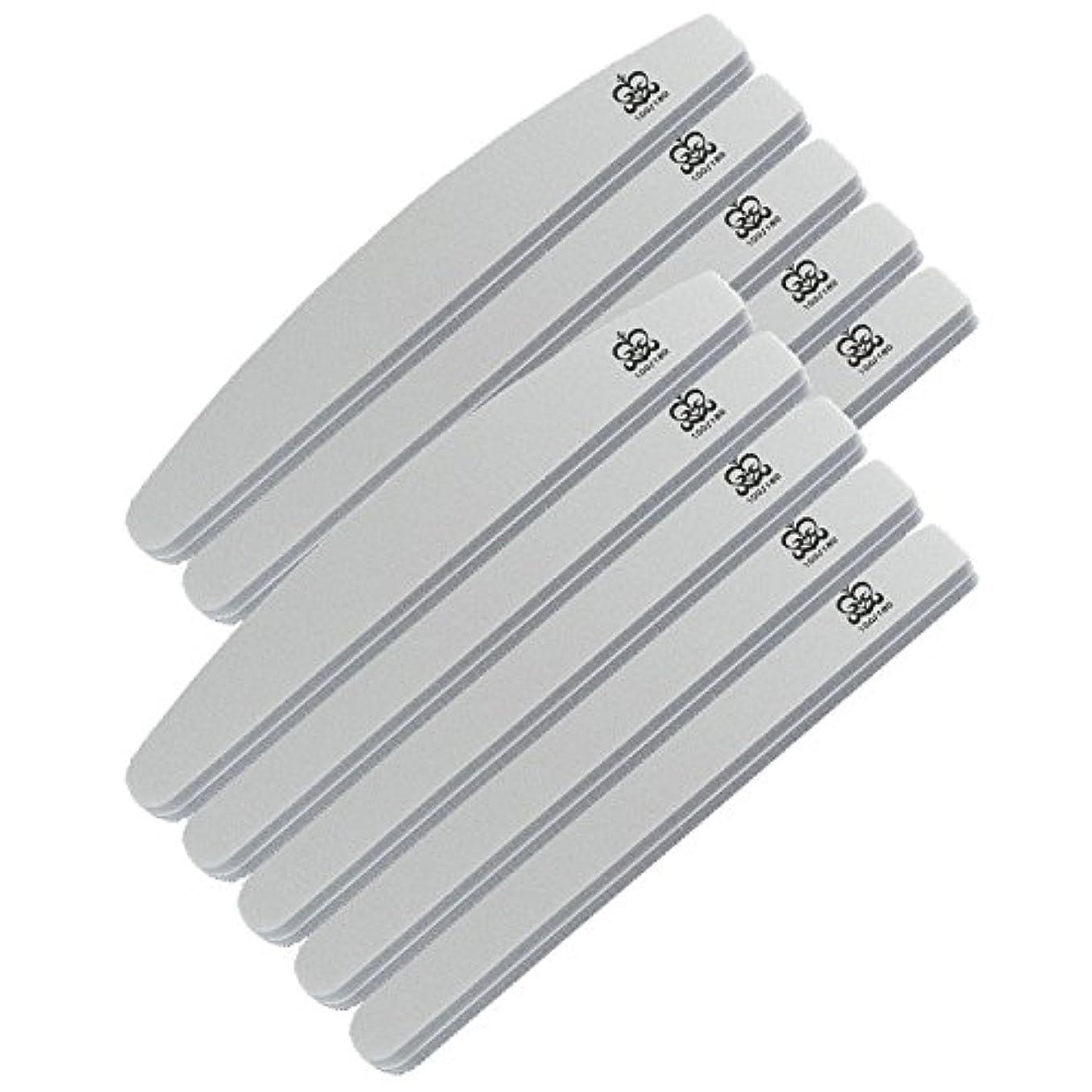 ブレース振り子マイナスミクレア(MICREA) ミクレア プロフェッショナルスポンジファイル バリューパック ムーン型 100/180 10本入