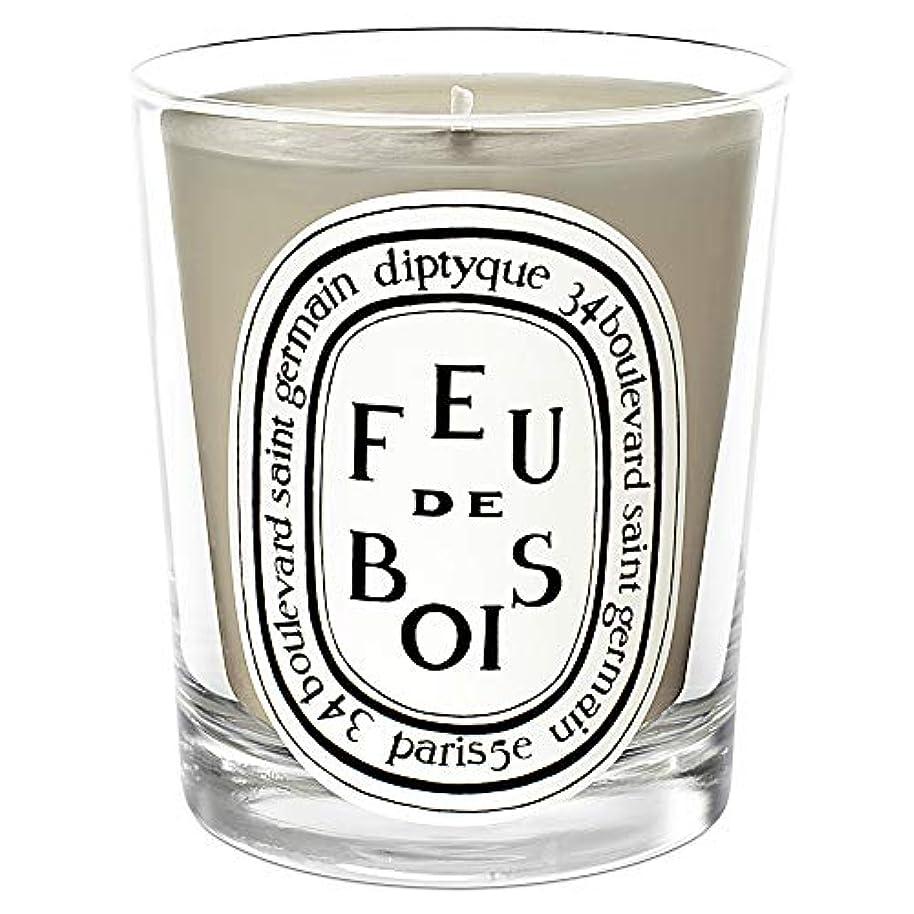 [Diptyque] DiptyqueのFeu?ド?ボワ香りのキャンドル190グラム - Diptyque Feu de Bois Scented Candle 190g [並行輸入品]