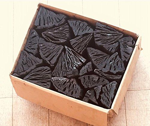 しらおい木炭2kg(ナラ)切り・約6cm 無煙無臭の硬質黒炭。北海道より産地直送!国産 北海道産