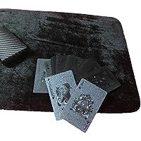 ASO ブラック トランプ マジック カード 手品 ポーカー 大富豪 (クロースアップ マット セット)