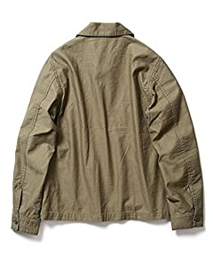 Cotton Short CPO Jacket 11-11-3297-139: Olive Drab