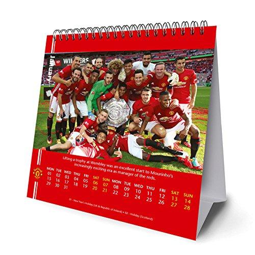 Manchester United(マンチェスターユナイテッド) オフィシャル 2018 卓上 カレンダー