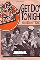"""Journal: KC and the Sunshine Band American Disco And Funk Band Best-Known Songs """"That's the Way I Like It"""", """"I'm Your Boogie Man"""". Soft Cover Paper 6 x 9 Inches 110 Pages, Paper Workbook for Teens & Children. Supplies Daily Creative Writing."""