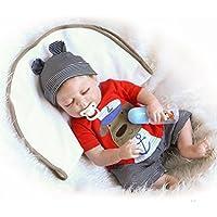 NPK 50 cm Full Body Silicone Lifelike Reborn Baby Doll Boy 20