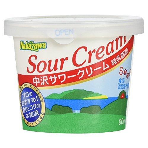 中沢フーズ [冷蔵] サワークリーム 90ml ×6セット