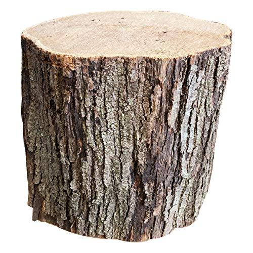 [メロウストア] 薪割台 姥目樫 ウバメガシ 薪王 薪割り台 広葉樹原木 カットなし,小サイズ