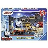 Ravensburger Thomas & Friends Night Work Glow-in-The-Dark Puzzle, 60-Piece