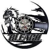 ブリーチ - Bleach Anime Best Vinyl Wall Clock Record Home Room Art Vintage Modern Decoration - Win a prize for feedback