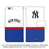 iPhone XR ケース [デザイン:11.NY・3色(青白赤)/マグネットハンドあり] ニューヨークヤンキース NY 手帳型 スマホケース カバー アイフォン アイホン てんあーる ipxr