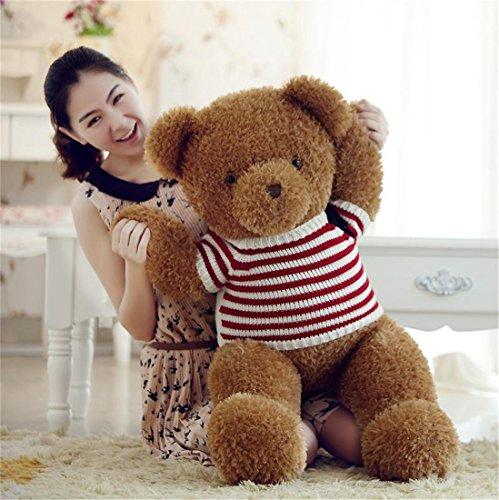 ぬいぐるみ  特大 くま/テディベア  大きい熊  動物  120cm   可愛い くまぬいぐるみ/熊縫い包み/クマ抱き枕/お祝い/ふわふわぬいぐるみ (NO.1)