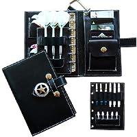 HIVEオリジナル 多機能ブック型ダーツケース BLACK 黒