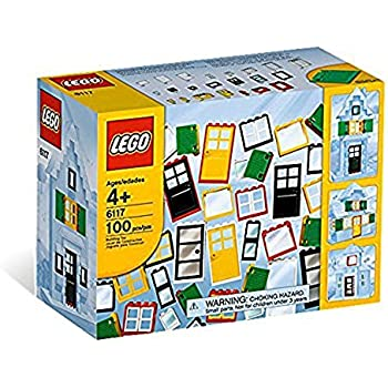 レゴ (LEGO) 基本セット ブロック ドアと窓セット 6117