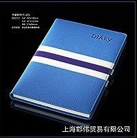 ベストセラー・ペーパーバック親密な本横型日記本模造革メモ帳ロゴ