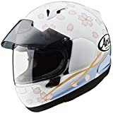 アライ (ARAI) ヘルメット アストラル-X サクラ 桜 白 59-60cm (ピンロックシート120(クリア)付き) ASTRAL-X-SAKURA-WH59