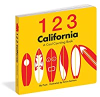 1 2 3 California: A Cool Counting Book (Cool Counting Books)