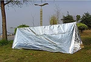 [OHAGI] 軽量 コンパクト レスキュー 非常用 シート 選べるセット (エマージェンシー シェルター 緊急小型テント)