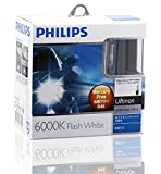 PHILIPS(フィリップス)  ヘッドライト HID バルブ D4S 6000K  42V 35W アルティノンフラッシュホワイト 純正交換用  42402WX HIDバルブ
