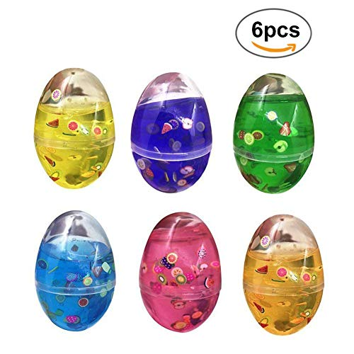 カラフルな卵 水晶ビード粘土 粘土のおもちゃ DIYクラフト...