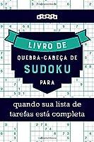 Livro de quebra-cabeças de Sudoku para quando sua lista de tarefas está completa