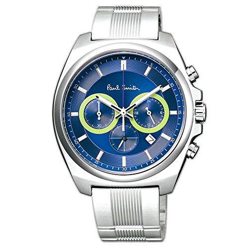 Paul Smith ポールスミス メンズ 腕時計 ファイナルアイズ クロノグラフ ネイビー Finaleyes Chronograph BA4-612 新品 【並行輸入品】
