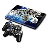 Linyuan 安定した品質 Skin Sticker Vinyl Decal Cover for Playstation 3 PS3 Super Slim CECH-4000 TN0161