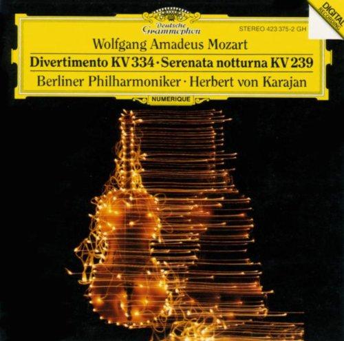 モーツァルト:ディヴェルティメント第17番、《セレナータ・ノ...