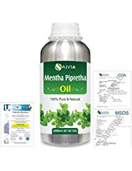 Mentha Pipreta 100% Natural Pure Essential Oil 2000ml/67 fl.oz.