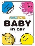 ミスターメン&リトルミス《FOUR》BABY in carステッカー☆キャラクターグッズ(カー用品)通販☆