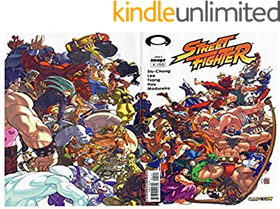 Street Fighter 2003 comic book (English Edition)